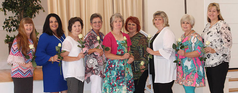 Members of Woman's Club of Starke